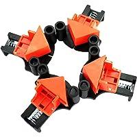 Tinello Grampos angulares, braçadeiras angulares de 60/90/120 graus, clipe fixador de ângulo reto para trabalhos em…