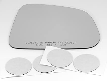 Fits 08-10 Saturn Vue Right Passenger Convex Mirror Glass Lens w/Silicone USA Automotive