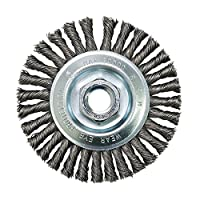 """Zenith Industries ZN306001 Twist Knot Stringer Wire Wheel, 4"""" x .02"""" x 5/8-11"""""""