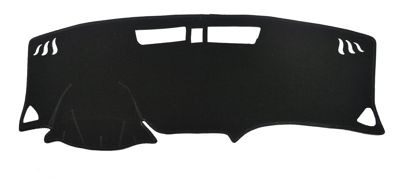 AutofitPro Custom Fit Dashboard Black Center Console Cover Dash Mat Protector Sunshield Cover for 2018 2019 Chevrolet Equinox SUV