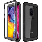 YESHON Samsung Galaxy S9 Case, Built-in Screen Protector Full Body Clear Cover Case Shockproof Heavy Duty Protective…