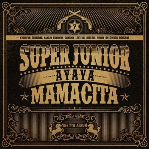 SUPER JUNIOR [MAMACITA] 7th Album A Ver CD+Booklet+Photocard+Tracking Number K-POP SEALED