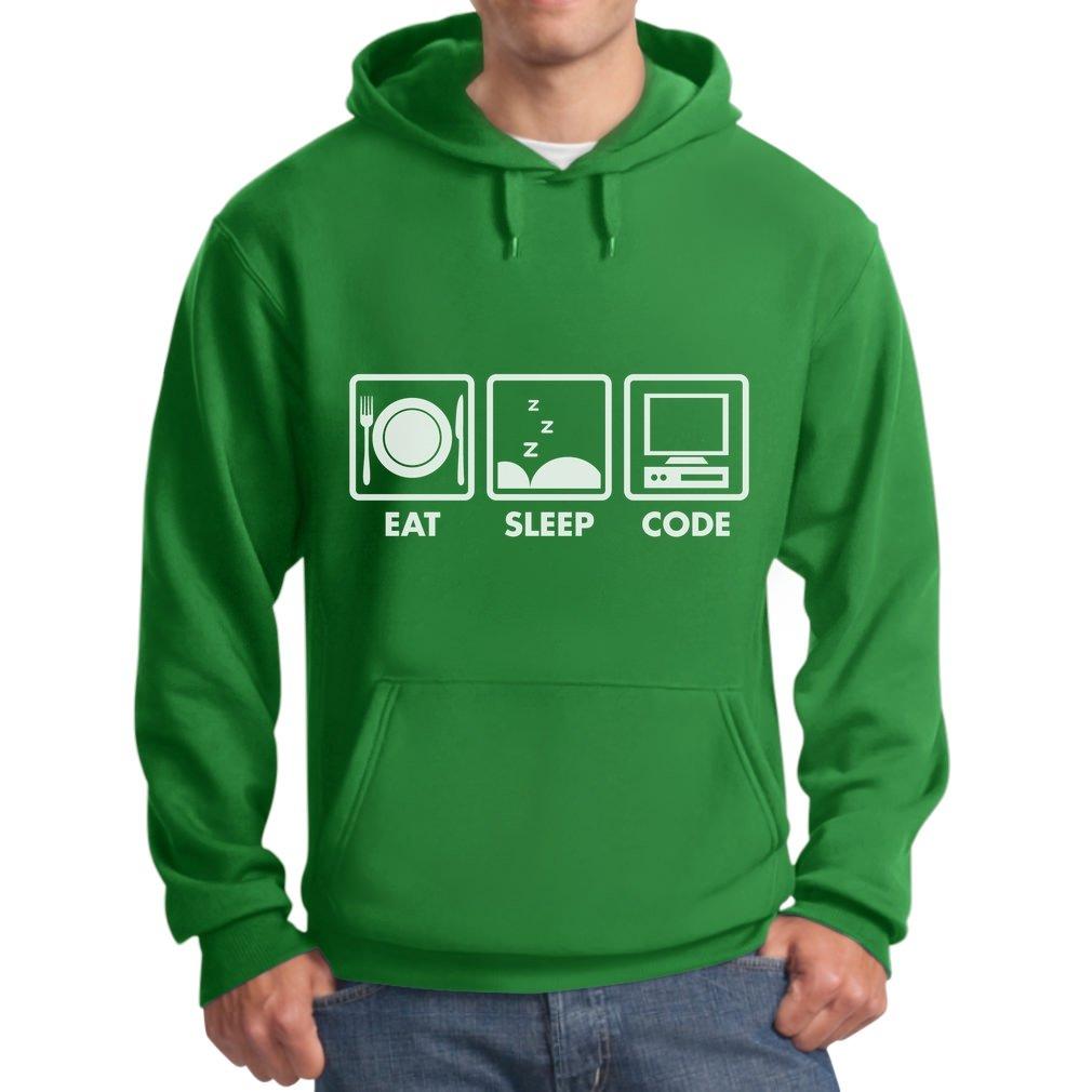 Amazon.com: TeeStars Eat Sleep Code - Funny Programmer Coder Hoodie: Clothing