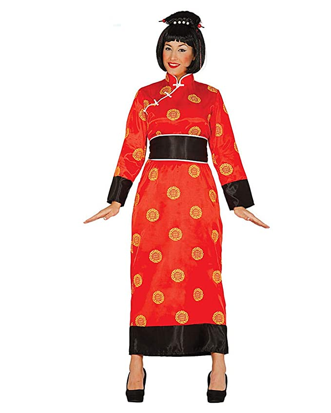 Horror-Shop Kimono De Geisha Rojo M: Amazon.es: Juguetes y ...