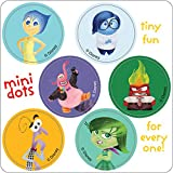 Inside Out Mini Dot Stickers - Birthday Party Supplies & Favors - 600 per Pack