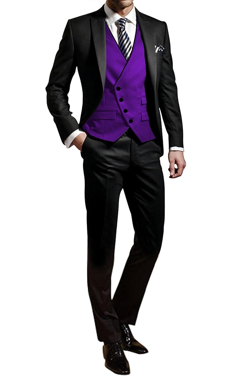 GEORGE Abito Completo Uomo smoking abiti giacca 3-pezzi giacca set, abito pantaloni, gilet 114 XZ114