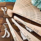 Personalized Sandalwood Fans, 40