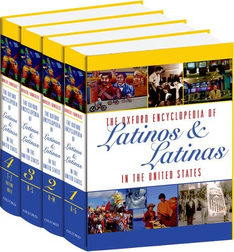 The Oxford Encyclopedia Of Latinos & Latinas In The United States 4 vol. set