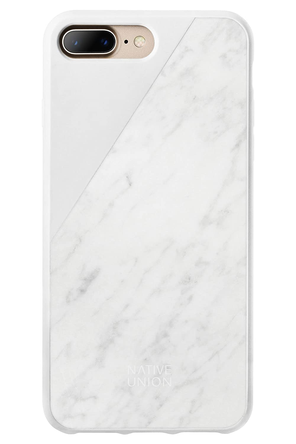 Amazon.com  Native Union CLIC Marble Case - Handcrafted Real Marble  Drop-Proof Protective Cover for iPhone 7 Plus 16361a40abbba