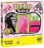 Make Your Own Flip Flop Fashion Kit - Makes 2 Pairs - One for you, One for a friend
