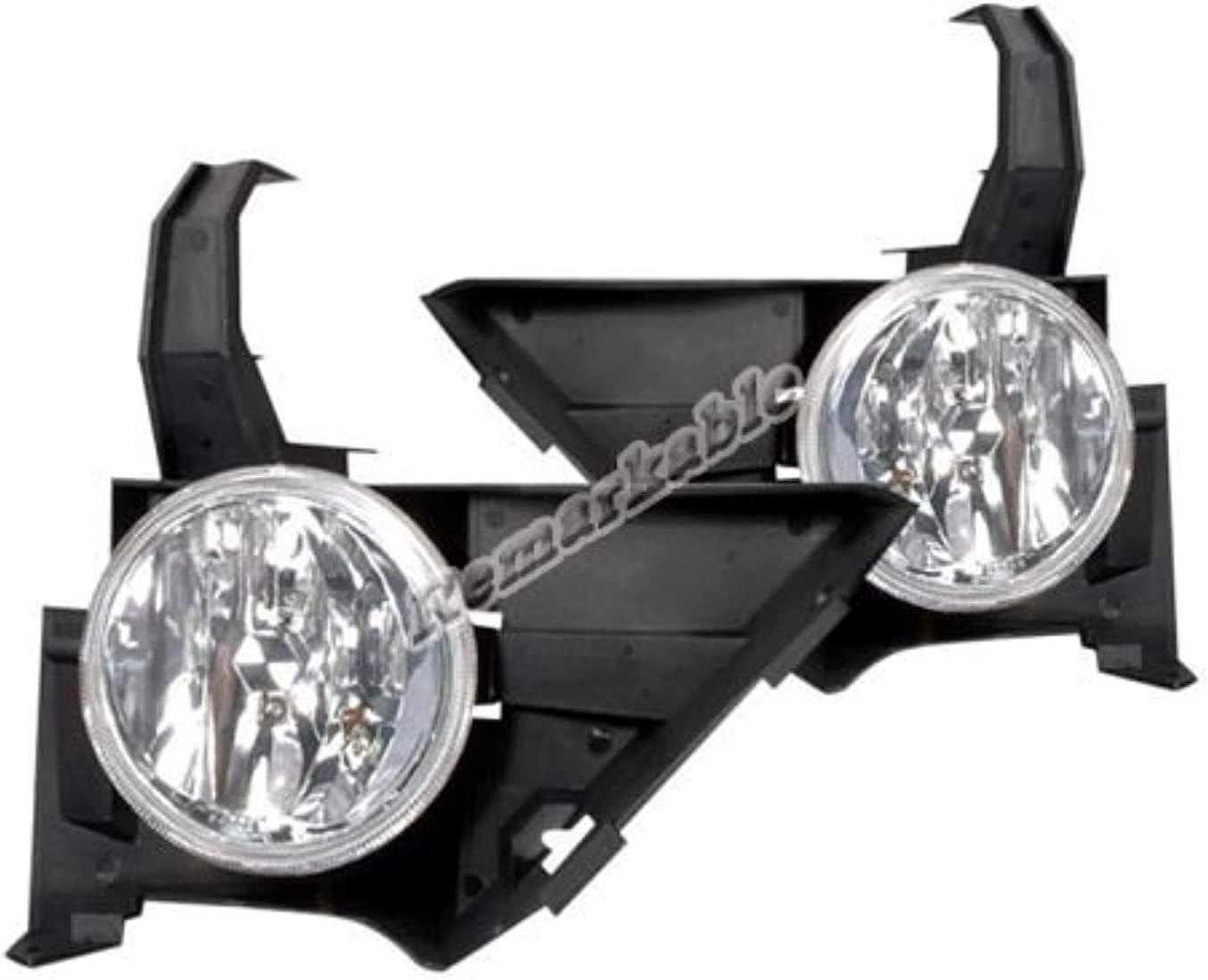RP Remarkable Power Fit For 2005 2006 CRV Clear Fog Light Kit FL7037