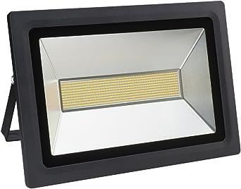 Solla® Foco proyector LED 200W para exteriores, blanco diurno ...