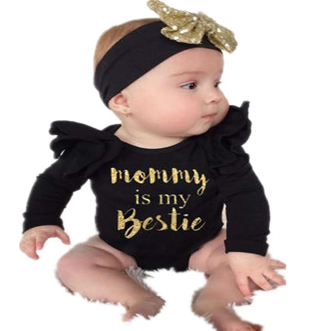 Ropa Bebe NiñA Verano Bebé ReciéN Nacido NiñO PequeñO Bebé NiñA ...