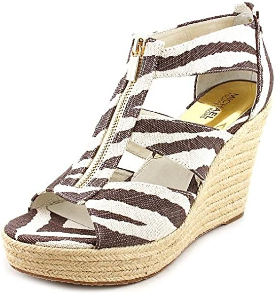 Michael Kors Damita Tiger Ankle Strap