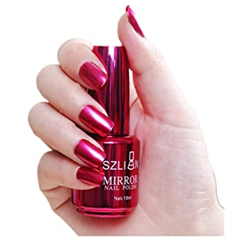 Amazon Com Mirror Effect Nail Polish For Girls Iuhan