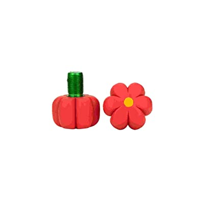 Roller Skates Toe Stops - Flowers (Red Hibiscus) : Sports & Outdoors
