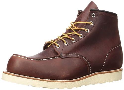 Red Wing Shoes Zapatos de Cordones de Cuero para Hombre