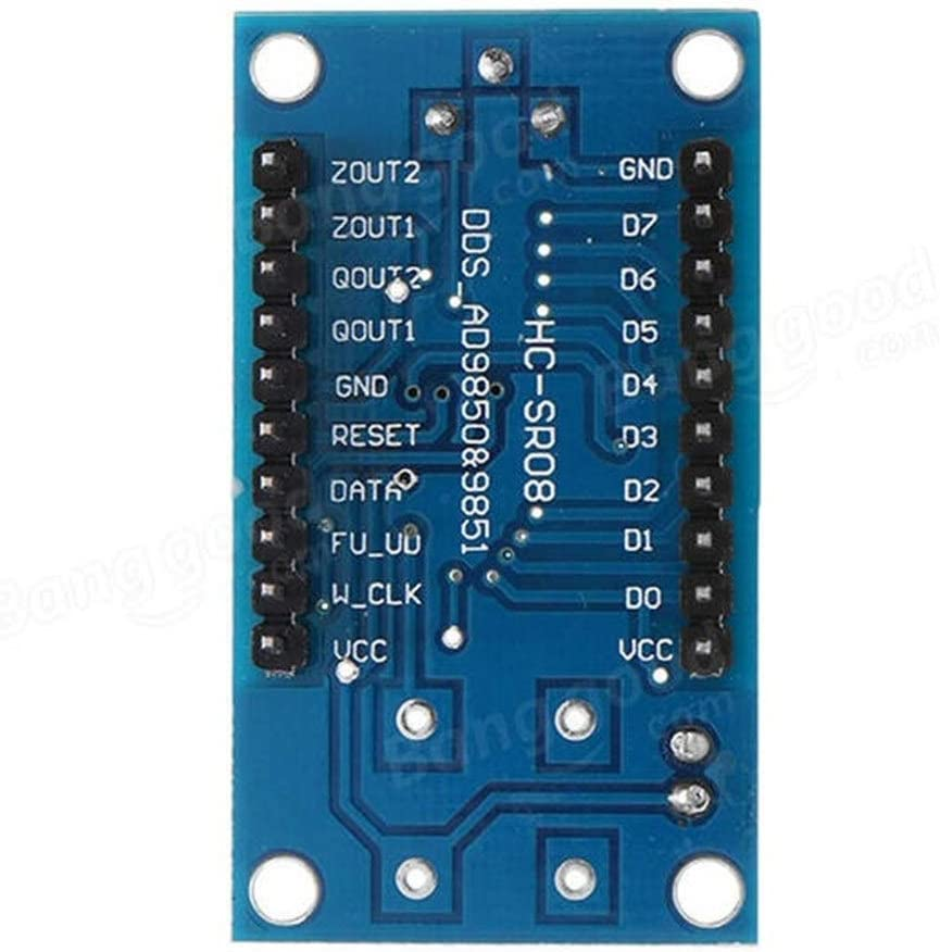 DDS Signal Generator Module 0-40MHz AD9850 2 Sine Wave and 2 Square Wave Low Heat Generating,Reverse Polarity Protection Cvmnkljfge Electronic DC Motor Speed Controller