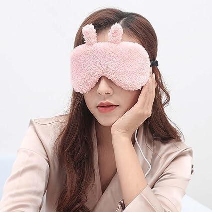MZP Máscara de ojos para dormir, gafas de vapor ultrafinas paquete de calor usb fiebre
