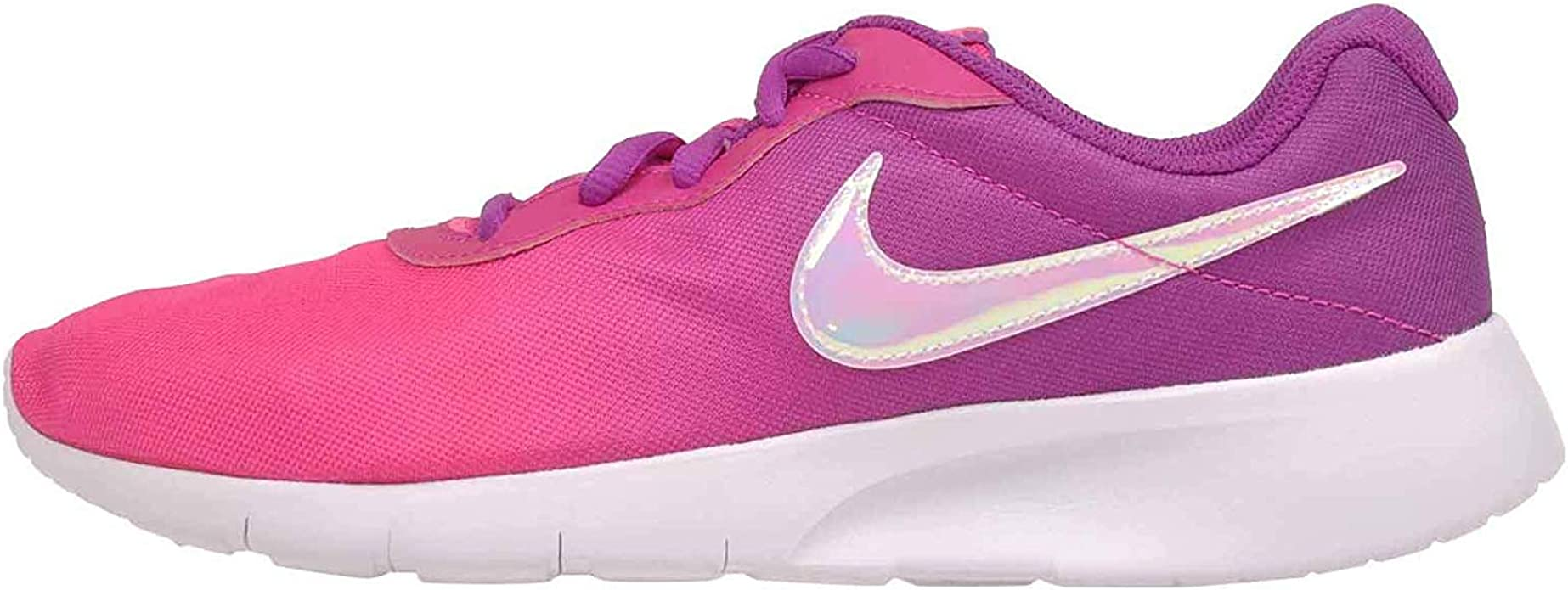 admirar radio Contaminado  Amazon.com | Nike Girl's, Tanjun Print GS Sneaker - Big Kid Pink Purple |  Sneakers