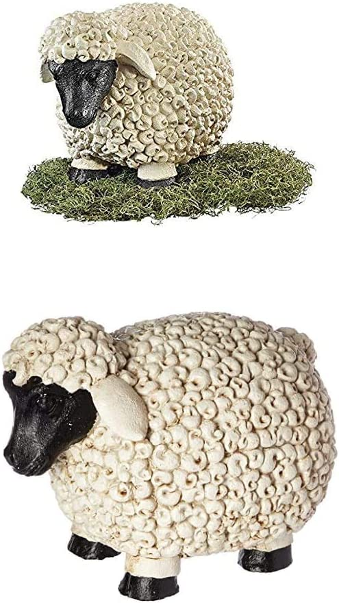Design Toscano S/Medium & Large Counting Sheep