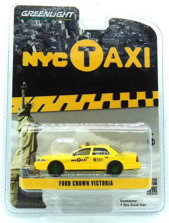 Ford Crown Victoria New York City Taxi Nyc Greenlight Exclusive 1 64 By Greenlight 29773 By Greenlight Spielzeug