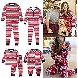 Fiaya Family Christmas Pajamas Set - 2 Piece Pjs Sets Cotton Sleepwears Mom,Dad,Kids,Baby (Kids, 2-3 Years)