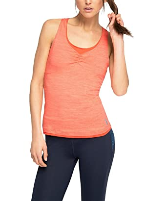 Womens E-Dry Funktions Top mit eingearbeitetem BH Sleeveless Sports Shirt Esprit With Credit Card n6k165kvZa