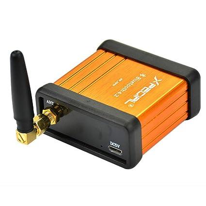 AIYIMA HiFi CSR64215 V4.2 - Amplificador Bluetooth para Coche (Compatible con APTX,