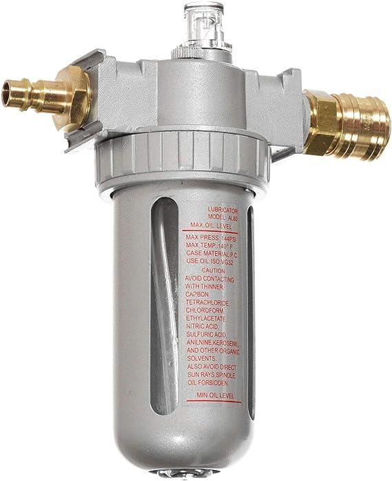 Druckluft Wartungseinheit Öler 1 2 Leitungsöler Druckluftöler Schnellkupplung Für Kompressor Schlagschrauber Baumarkt
