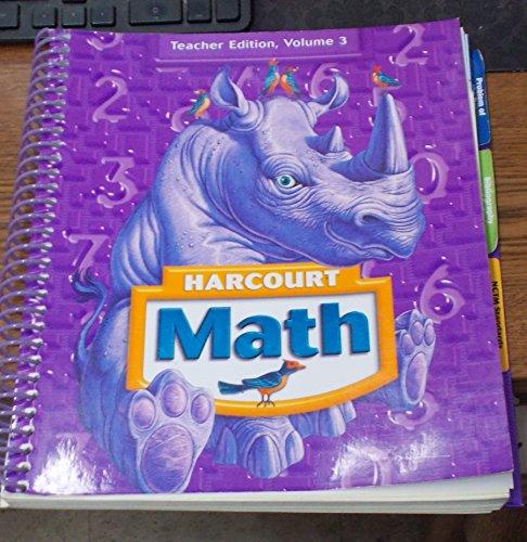 harcourt math grade 3 teacher edition pdf