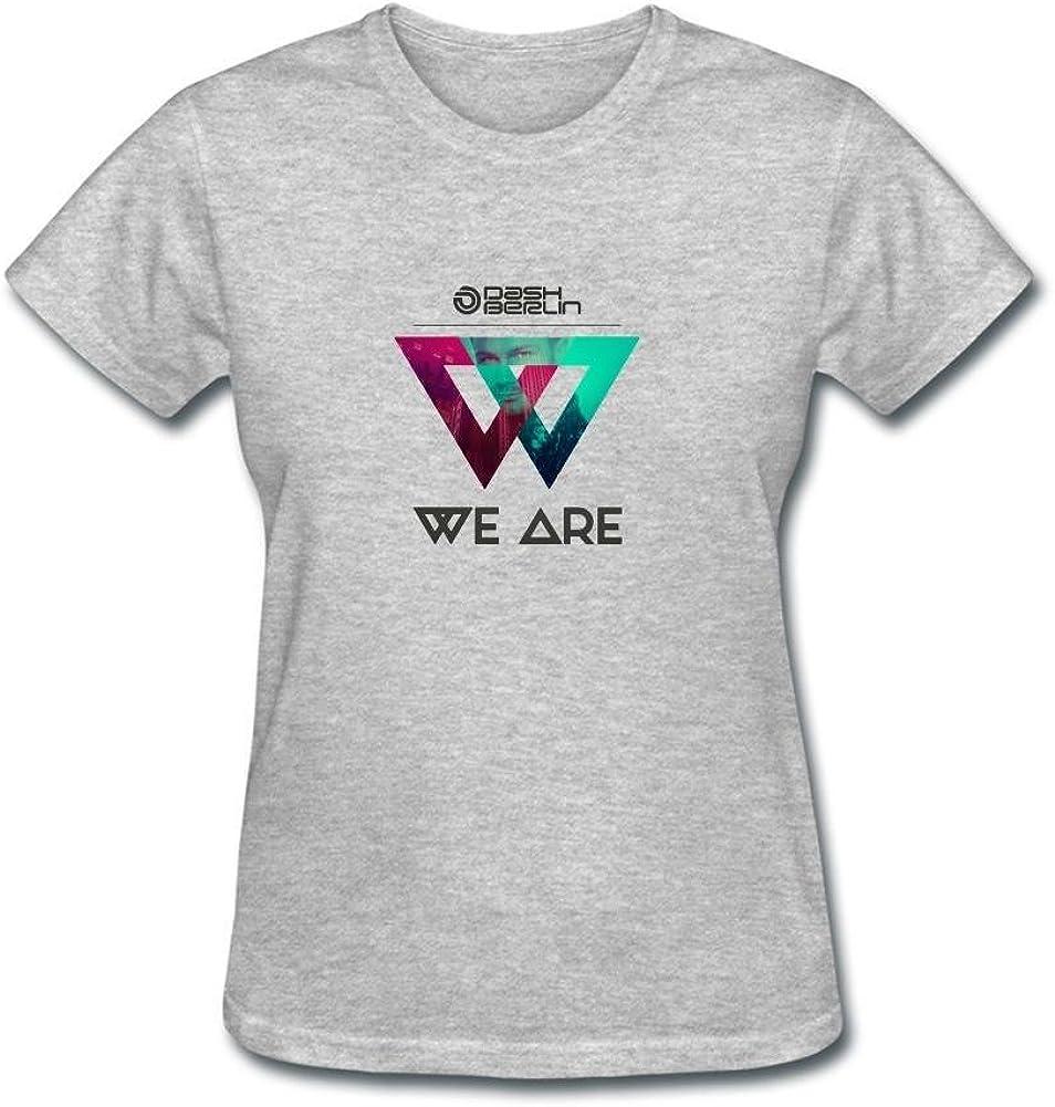 ZHENGXING Women's Dash Berlin We are Logo Short Sleeve T-Shirt XXL ColorName