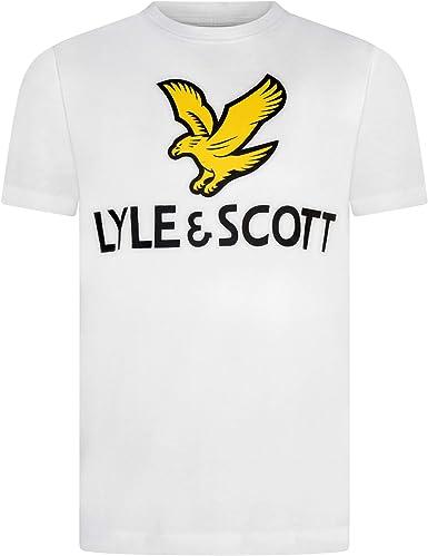 LYLEeSCOTT Camiseta Negra para NIÑOS LSC0815