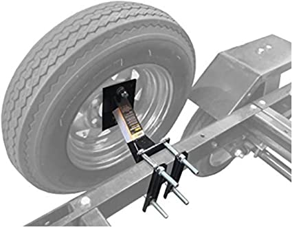 Tow Tuff Trailer Spare Tire Carrier