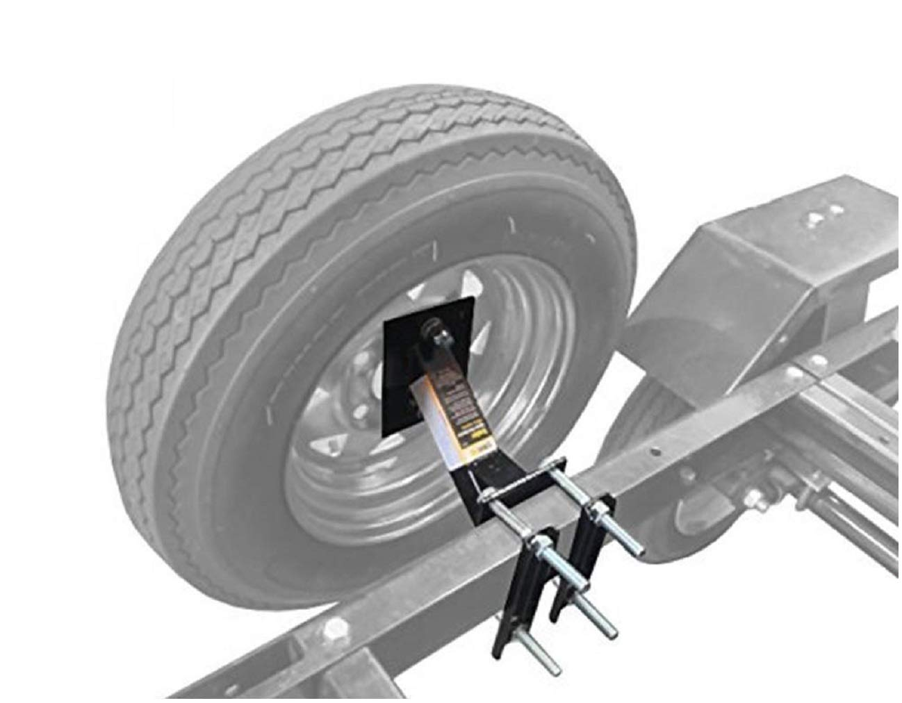 Home & Comforts Boat Trailer Spare Tire Mount Carrier Wheel Cargo Holder by Home & Comforts