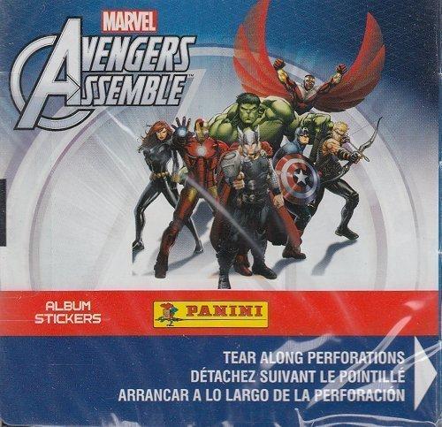 Panini Marvel Avengers Assemble Sticker Box