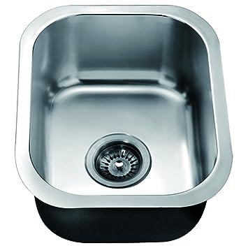 Dawn bs1215 undermount single bowl bar sink polished satin bar dawn bs1215 undermount single bowl bar sink polished satin workwithnaturefo