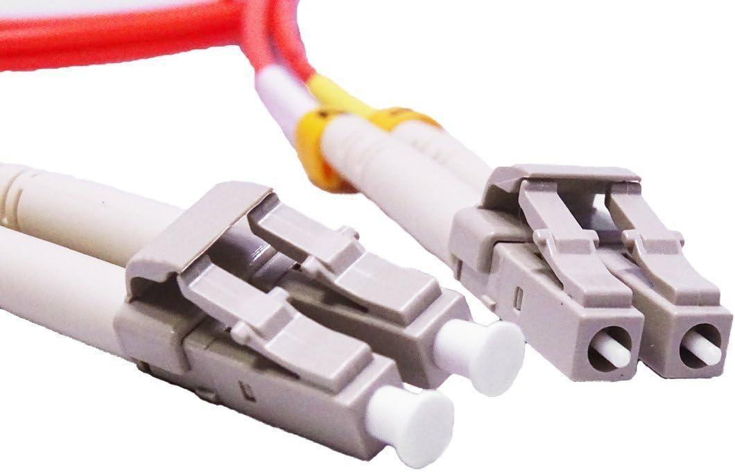 100M Multimode Duplex Fiber Optic Cable 62.5//125 LC to LC