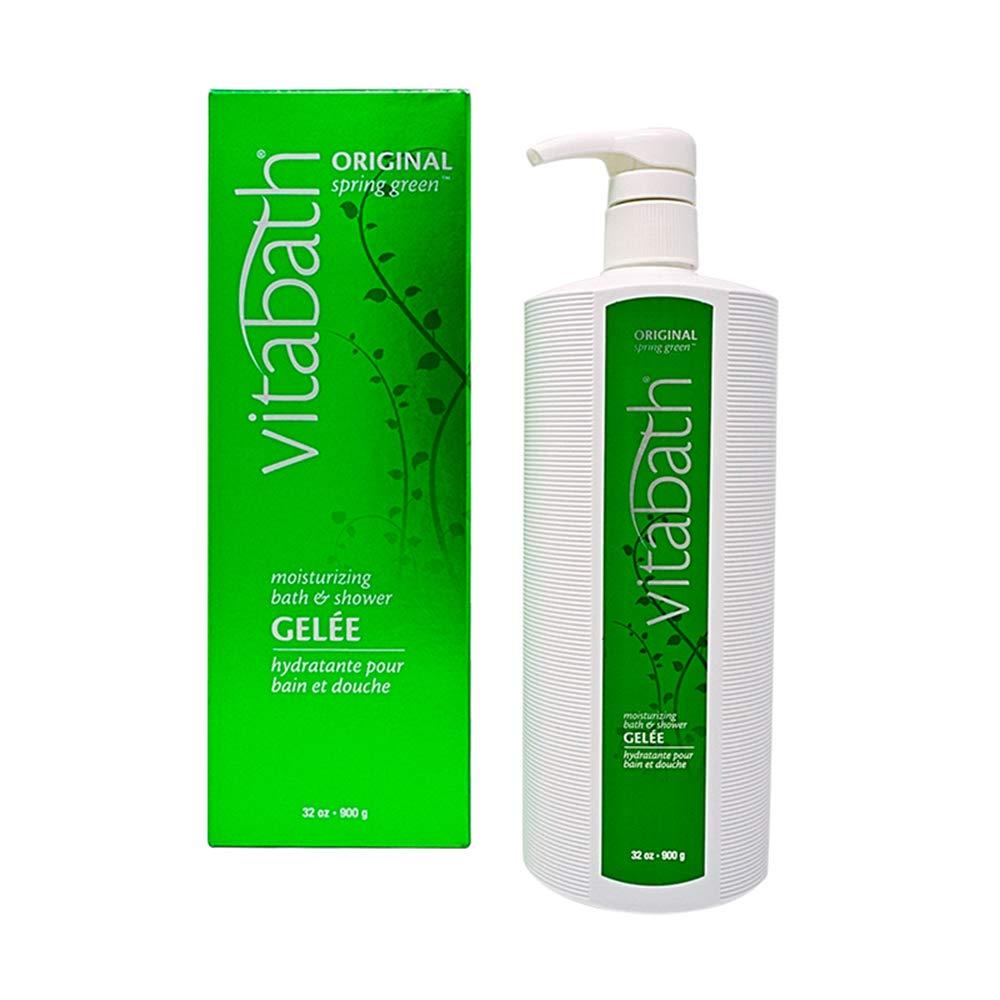 Vitabath ORIGINAL spring green 32 oz Moisturizing Bath & Shower Gelée