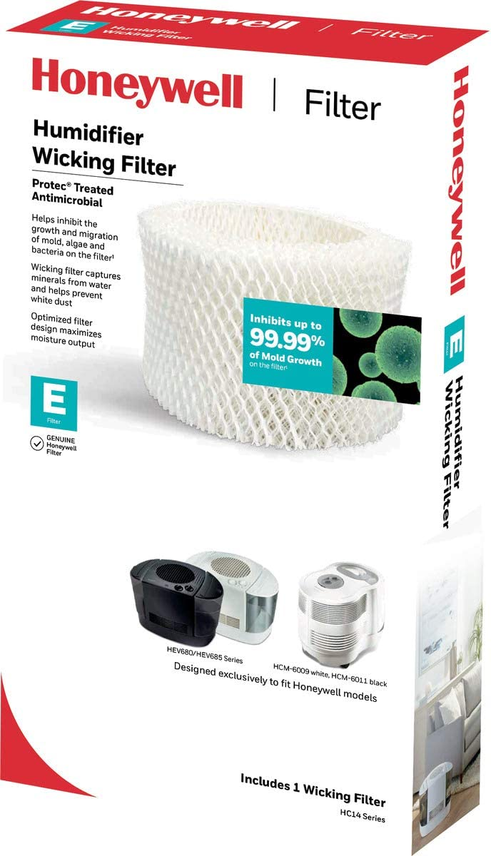 B000AO1G72 HONEYWELL Certified HC-14 Replacement Wicking Humidifier Filter, Filter E 61ZDuaQvh1L
