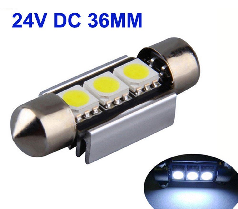 2/Â/x 24/Â/V Camiones Bombillas LED Auto Interior Iluminaci/Ã/³n 24/Â/V