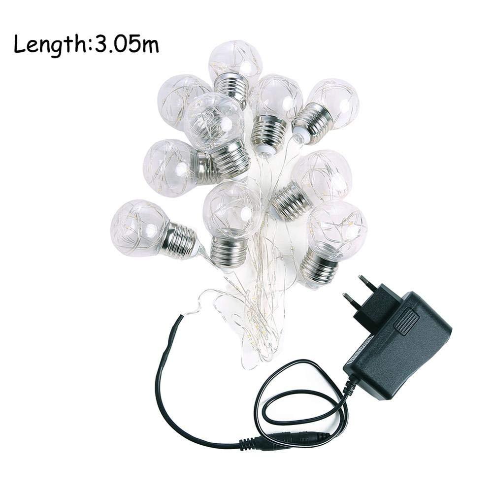 10 LED Lichterketten Märchen Dekoration Lichter Weihnachtsbeleuchtung Valentinstag Party Garten Hochzeit Hütte drinnen oder draußen Pretty-jin