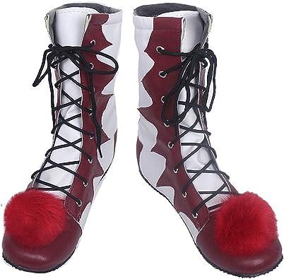 Película de Terror Pennywise Zapatos Rojos y Blancos Botas de ...