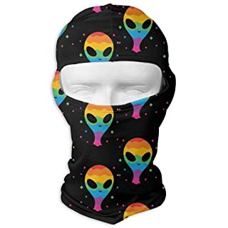 Gay Pride Alien Balaclava UV Protection Windproof Ski Face Masks for Cycling Outdoor Sports Full Face Mask Breathable