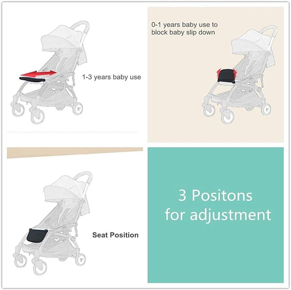 Reposapi/és para silla de paseo de beb/é Soporte de pie para cochecito de beb/é extensi/ón de pie ajustable para pie de cuna de beb/é