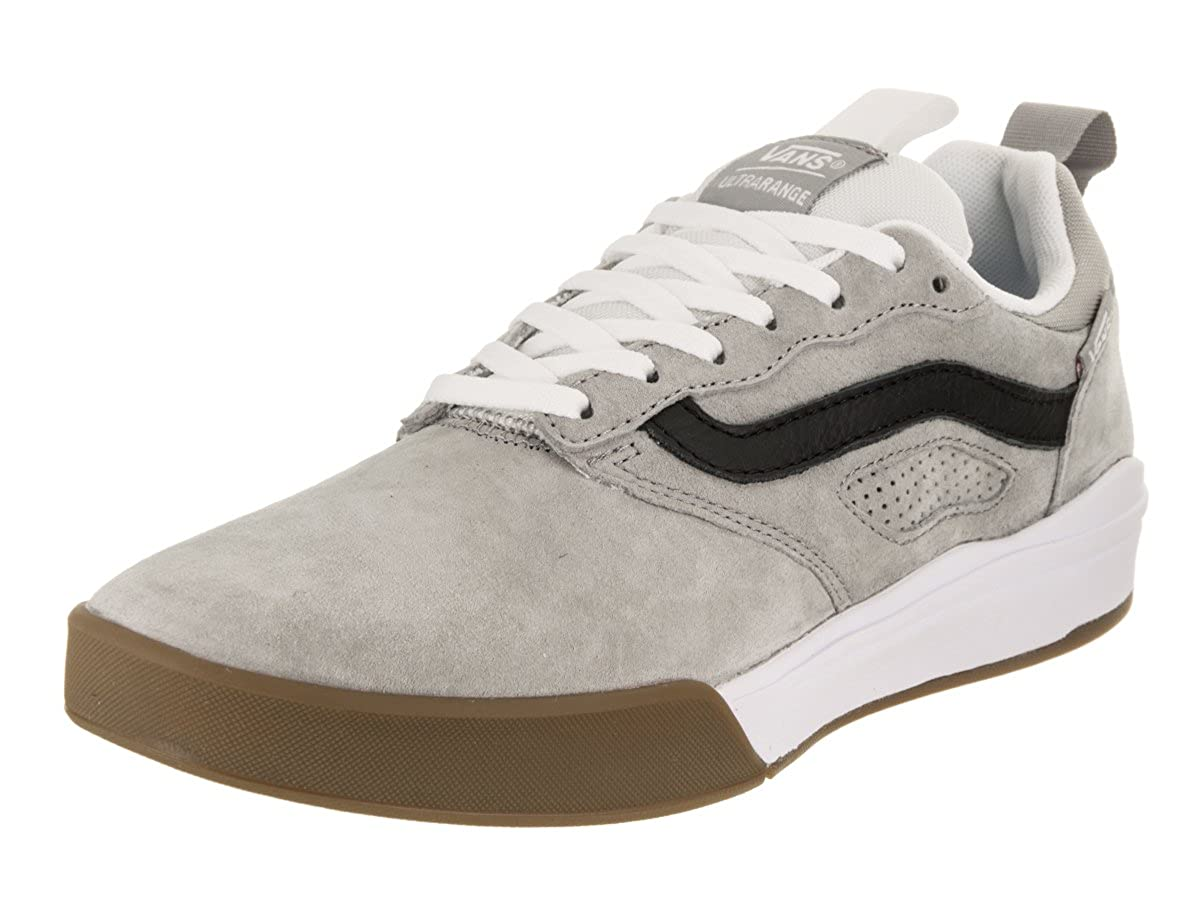 68e54d08f95 Amazon.com | Vans UltraRange Drizzle/White Men's Classic Skate Shoes Size  7.5 | Fashion Sneakers