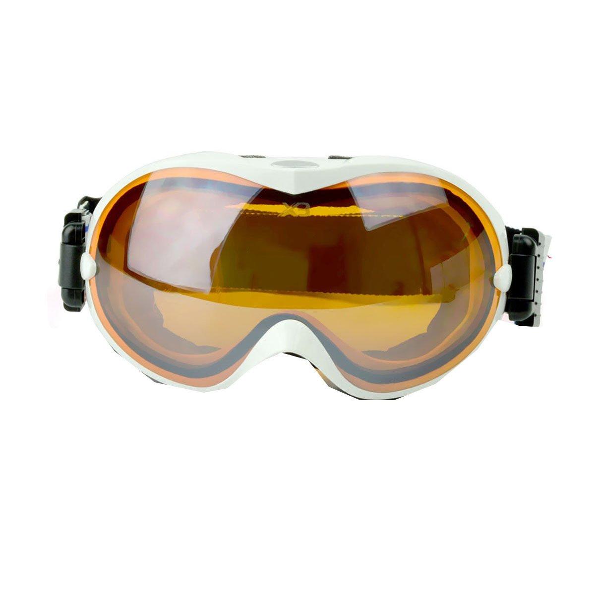 TZQ Damen Reitbrillen Goggles Sonnenbrillen Skifahren Spiegel Bergsteigen Outdoor Multifunktionsbrillen