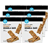 Amazon Brand - Happy Belly Sweet & Salty Peanut Granola Bars, 12 Count (Pack of 6)