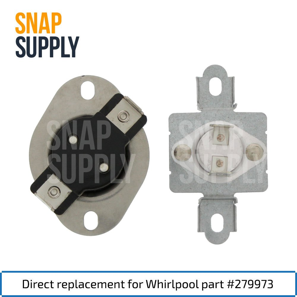 279973 Dryer Thermostat Directly Replaces Er279973 Whirlpool Gew9200lw1 Wiring Diagram Ap3094323 3391913 3404151 3404152 3977395 8318314 897710 Ah334387 Ea334387