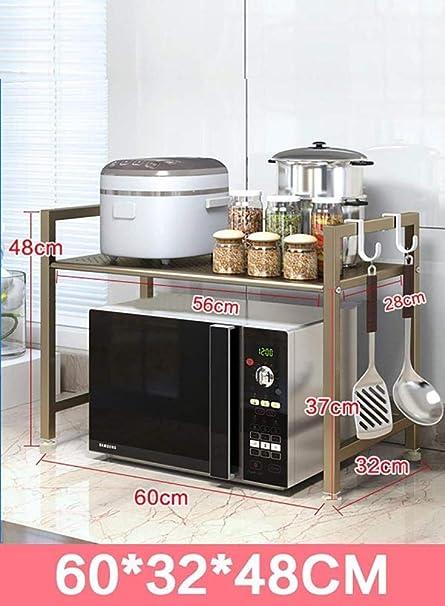 ACZZ Rack de Cocina Rack de Almacenamiento de Cocina/Acero ...